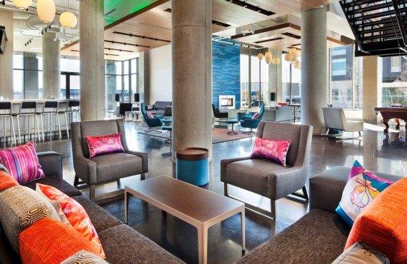 Hôtel Aloft Boston - Lounge