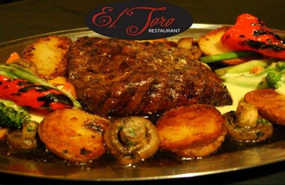 """Repas du restaurant, le """"El Toro"""""""