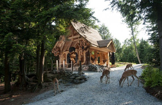 La maison enchantee