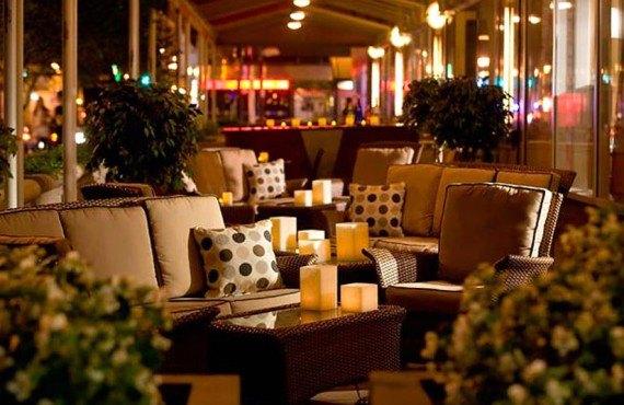 Philadelphia Marriott Downtown - Terrasse