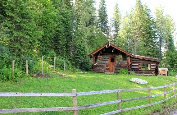 Cottage sur le site