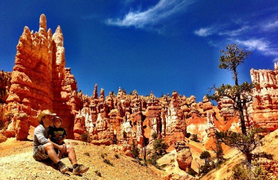 Forêt monolithes, Bryce Canyon