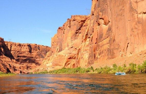 Rafting sur le fleuve Colorado