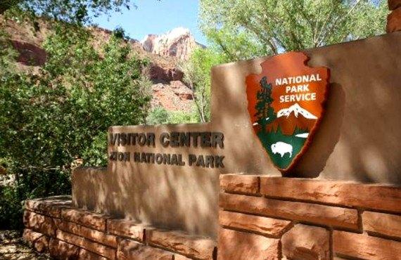 Entrée du Parc National de Zion