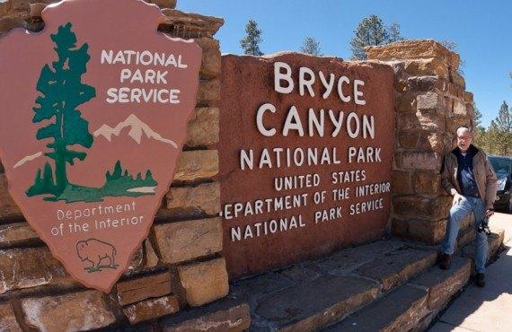 Entrée du Parc national Bryce Canyon