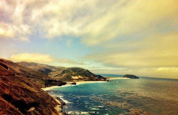 La côte californienne près de Monterey