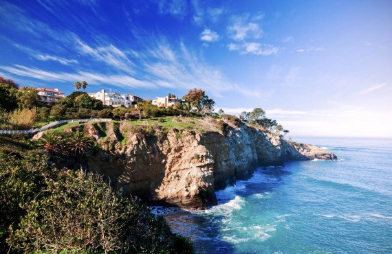 La Jolla, village typique de la Californie