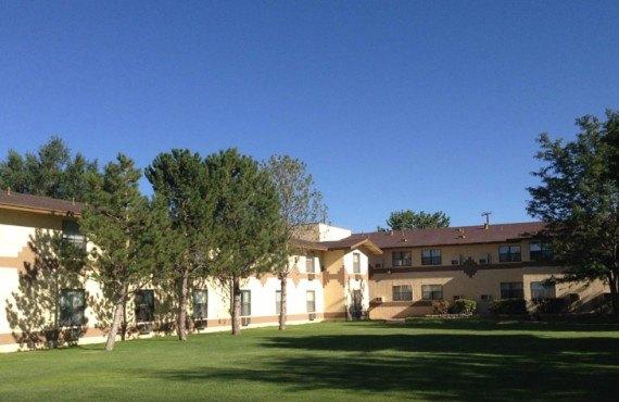 Quality Inn Navajo - Cours arrière