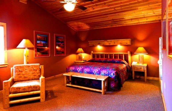 Red Cliffs Lodge - Chalet, Chambre