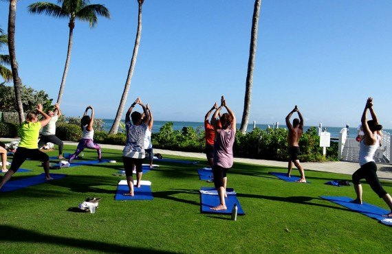 South Seas Island Resort - Yoga