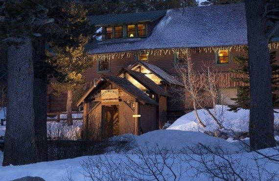 Tamarack Lodge en hiver
