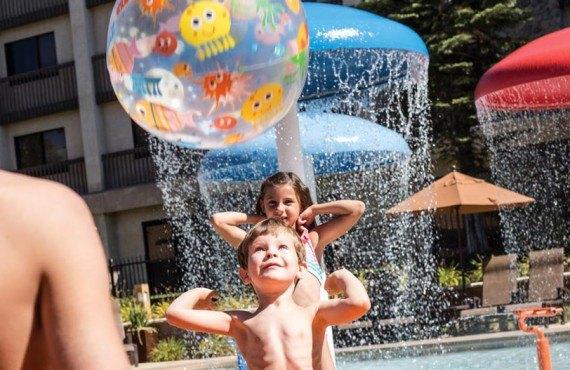 Tenaya Lodge - Jeux d'eau