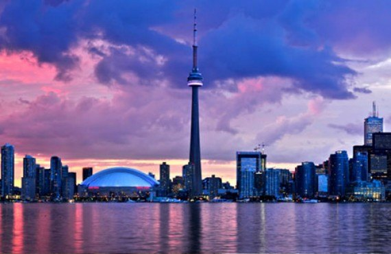 Vue de Toronto