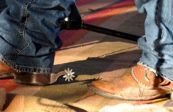 Décor de cowboy au Broken Spur Inn