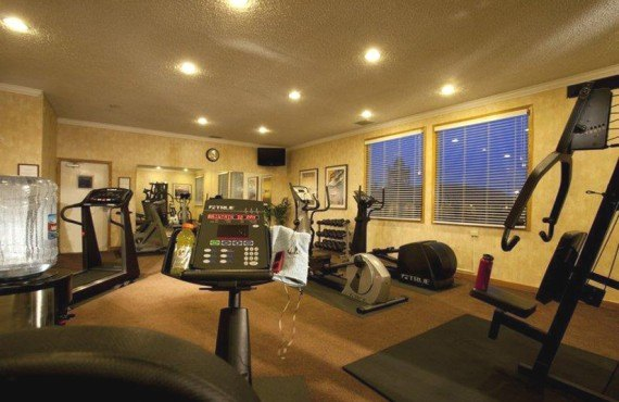 Best Western Plus El Rancho - Salle de Fitness