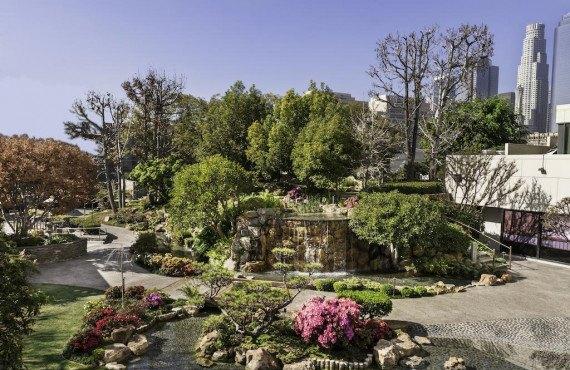 Chute d'eau des jardins de Kyoto