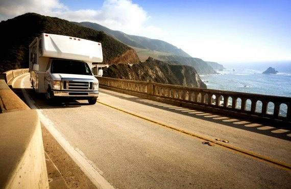 La highway 1 en camping-car