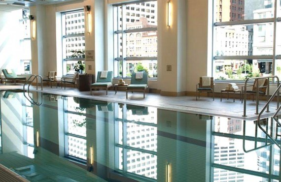 Intercontinental Boston - Piscine