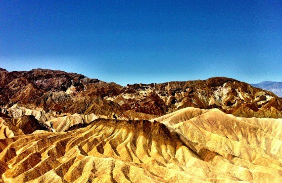 Il peut faire jusqu'à 55°C à Death Valley