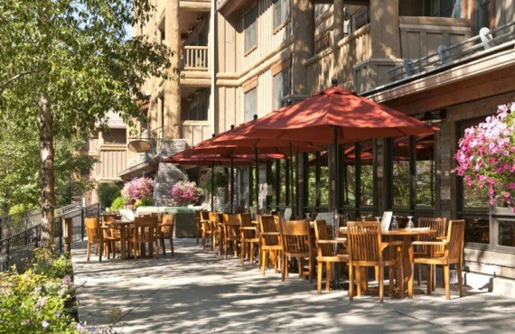 Terrasse du restaurant Spur