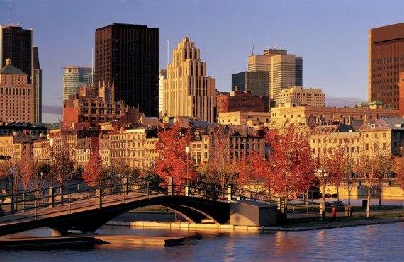 Vieux-Port de Montréal en automne
