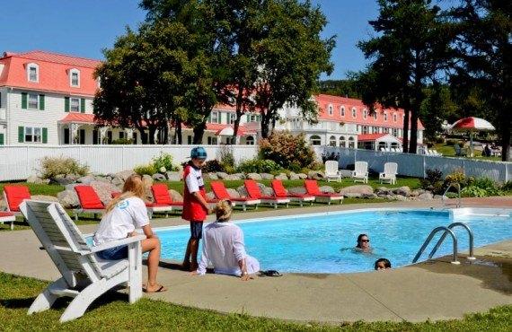 Hôtel Tadoussac - Piscine