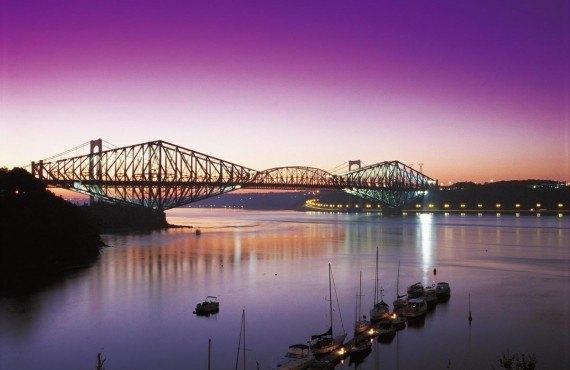 Pont de Québec et pont Pierre-Laporte