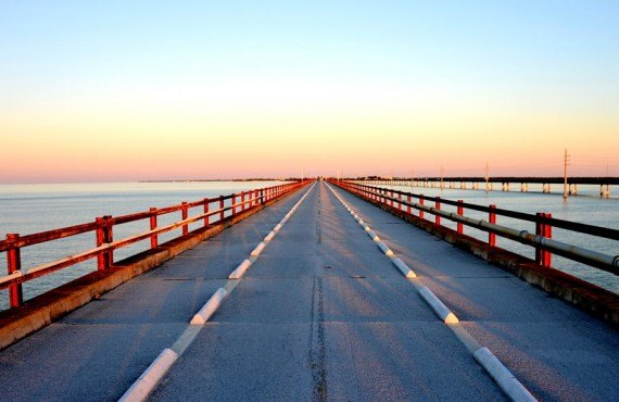 Pont Seven Miles, route panoramique des Keys