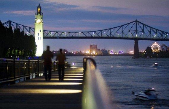 Promenade dans le Vieux-Port de Montréal