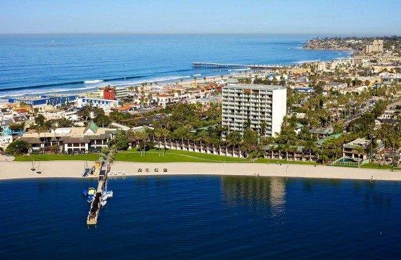 Catamaran Resort Hotel - Vue aérienne