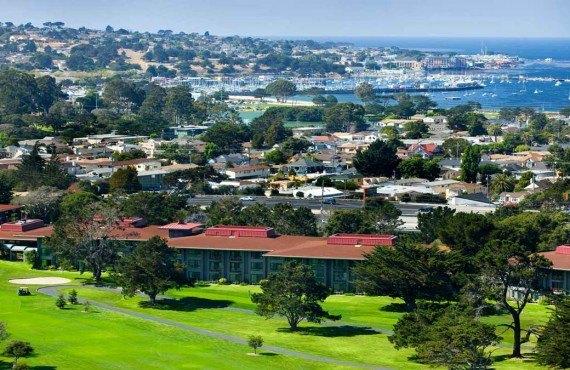 Hyatt Regency Monterey - Vue aérienne