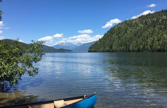 Randonnée en canot