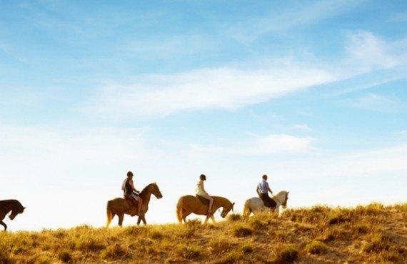 Randonnée à cheval à proximité