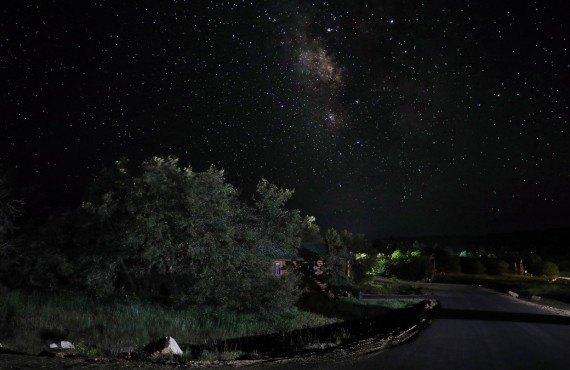 Zion Ponderosa Ranch Resort en soirée