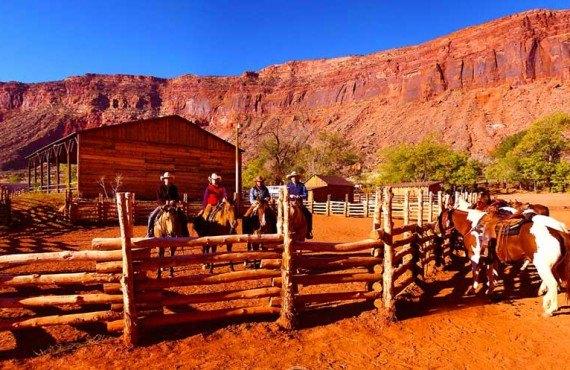 Red Cliffs Lodge - Équitation