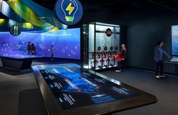 Expositions à l'Aquarium of the Pacific