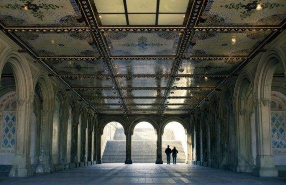 Bathesda Terrace Arcade in Central Park