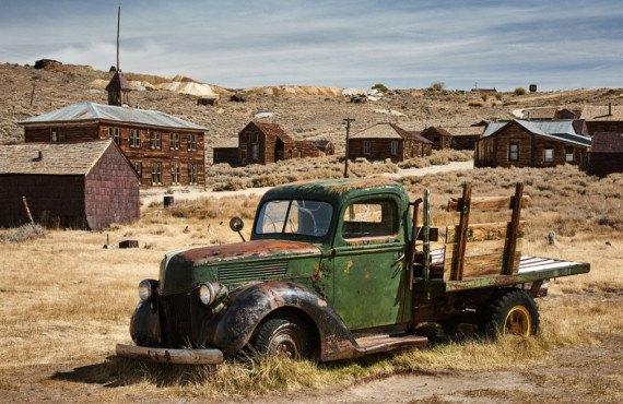 Voiture abandonnée à Bodie aux États-Unis