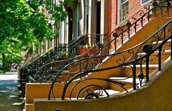 Maisons typiques Brooklyn