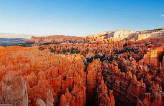 Vue sur le parc national de Bryce Canyon