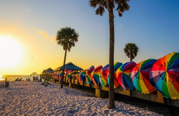 Clearwater Beach in Florida