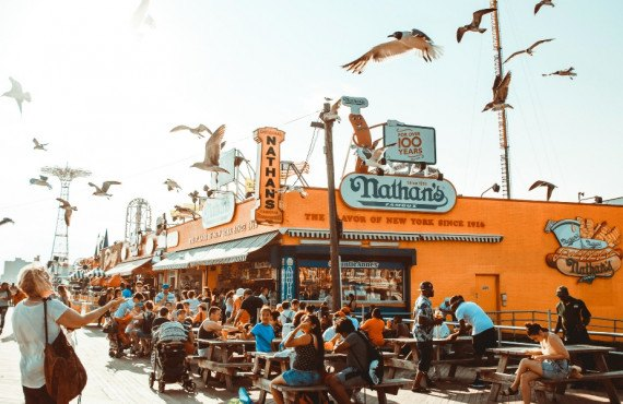 Nathan's Famous Hot-Dogs Coney Island