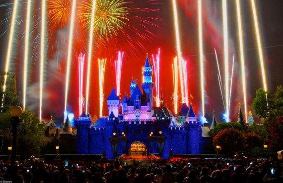 Château de Disneyland Anaheim
