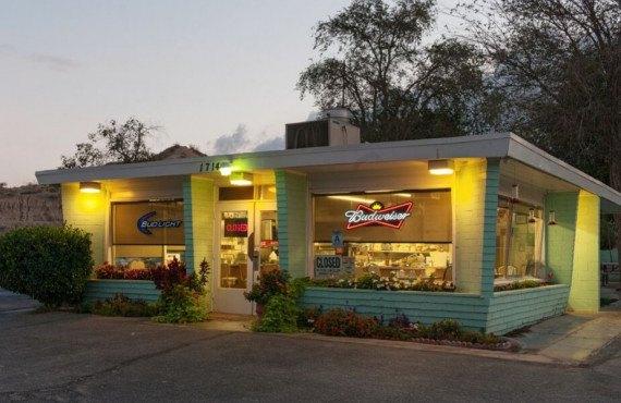 Route 66 burger