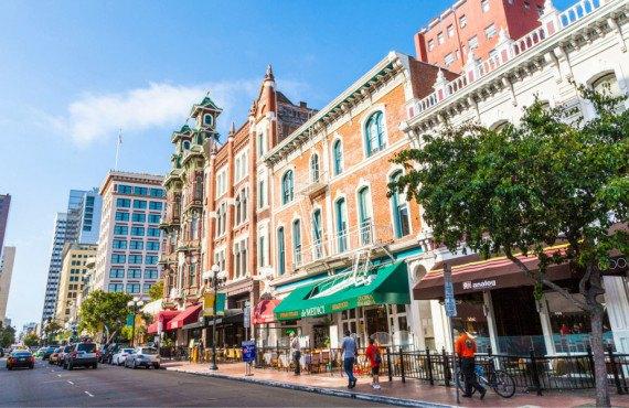 Quartier Gaslamp à San Diego
