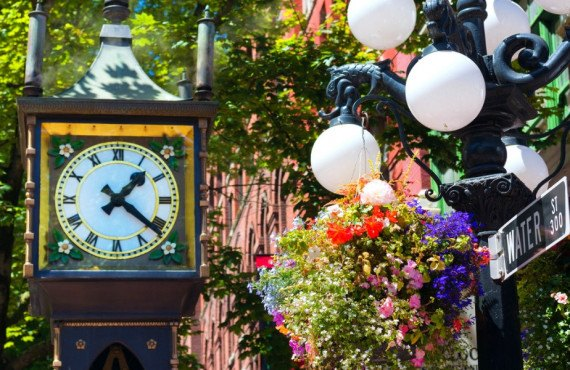 Steam Clock de Gastown