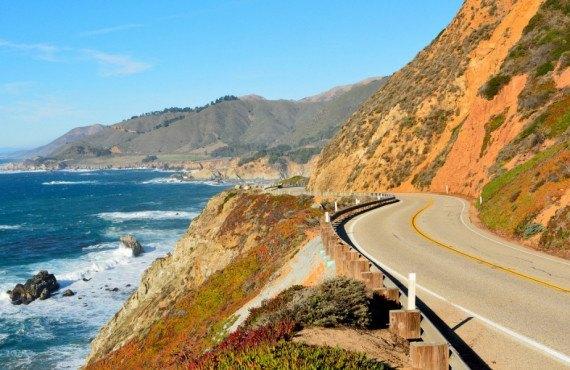Vue de la Pacific Coast Highway