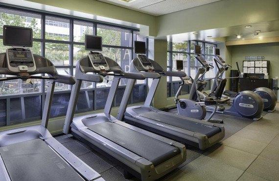 Hilton Seattle - Salle de sport