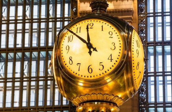 Horloge à 4 faces de Grand Central Terminal