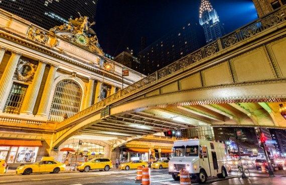 Horloge en verre Tiffany de Grand Central Terminal